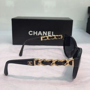 Chanel Sunglasses w/ braided sides